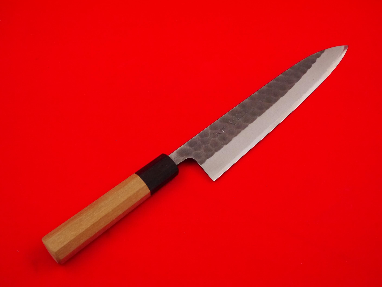 和牛刀槌目白本霞上作七寸(210㎜)鞘付き