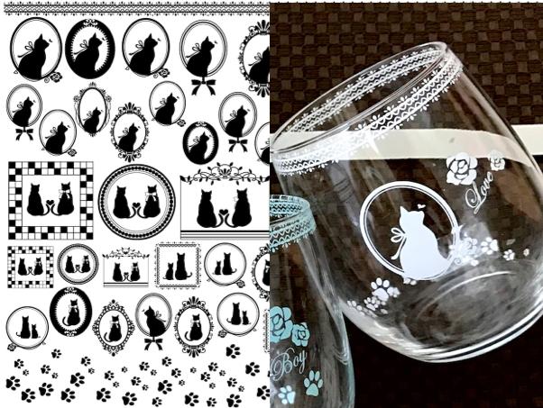【ガラス用】CAT転写紙 ホワイト