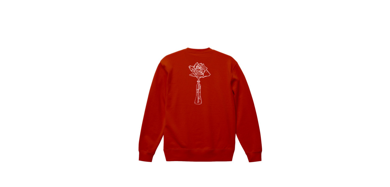 coguchi rose sweat (RED)