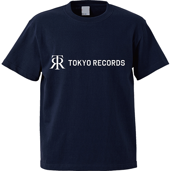TOKYO RECORDS TEE(NVY×WHT)