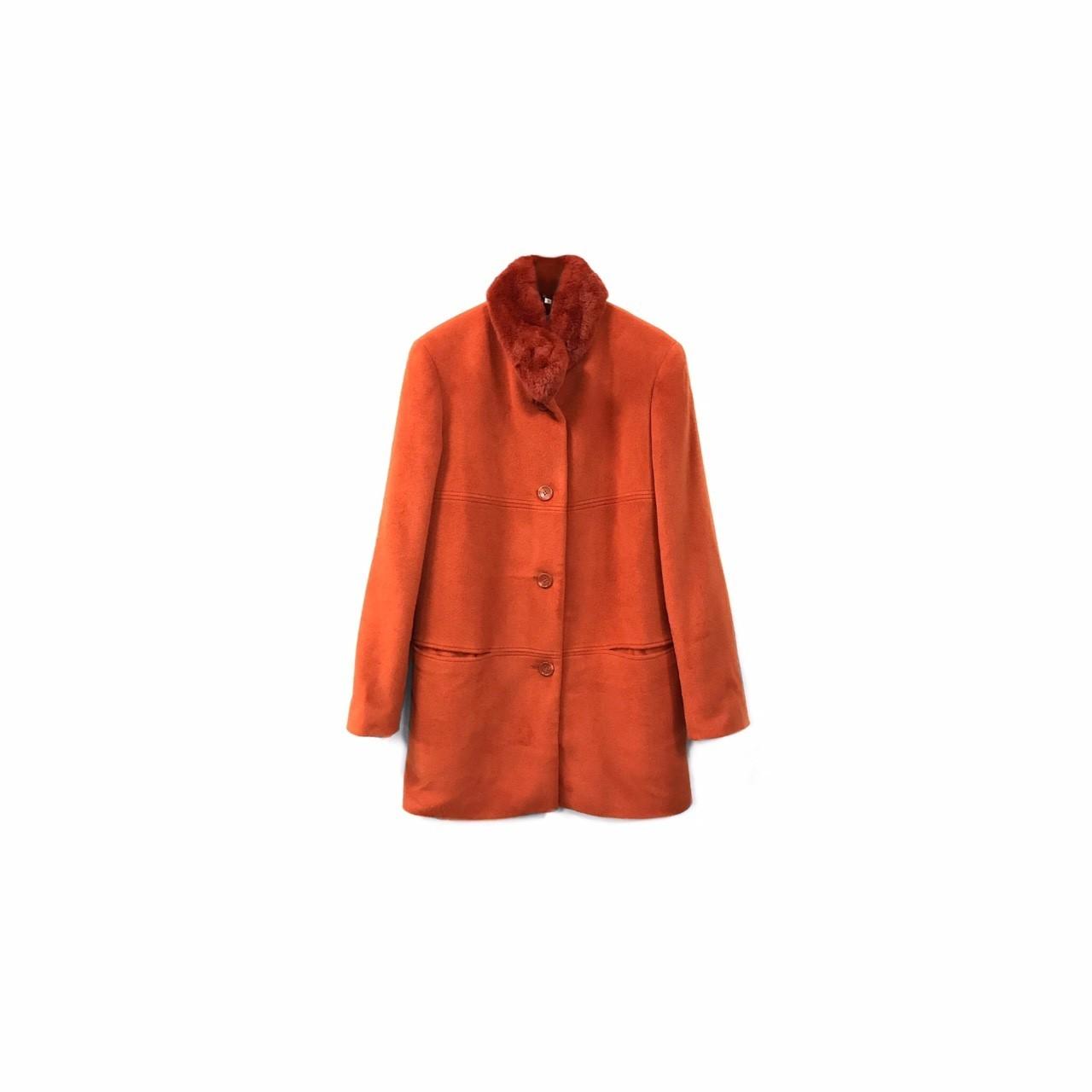 USED - Angola&Wool Fur Design Coat ¥13500+tax→¥8500+tax