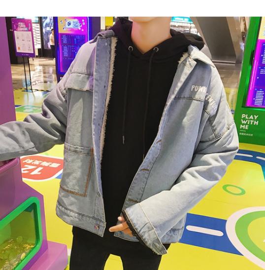 デザインデニムジャケット
