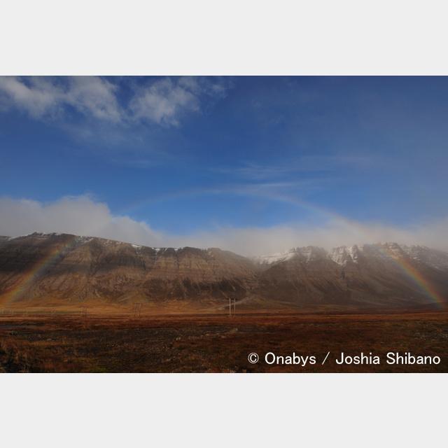 No.8-サイズM『Rainbow in  Westfjords』