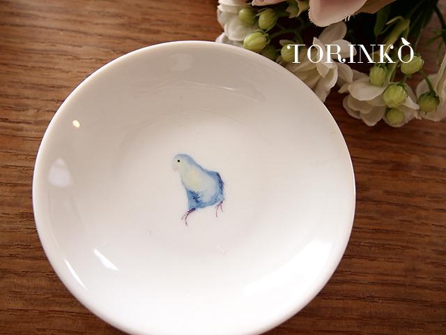 マメルリハ 横向き お皿 小サイズ(鳥・オウム・インコ)
