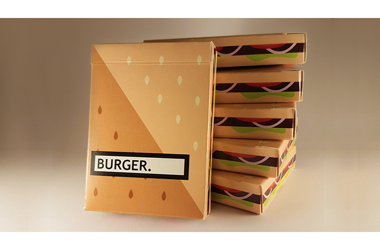 Burger Playing Cards Created by FLAMINKO Playing Cards