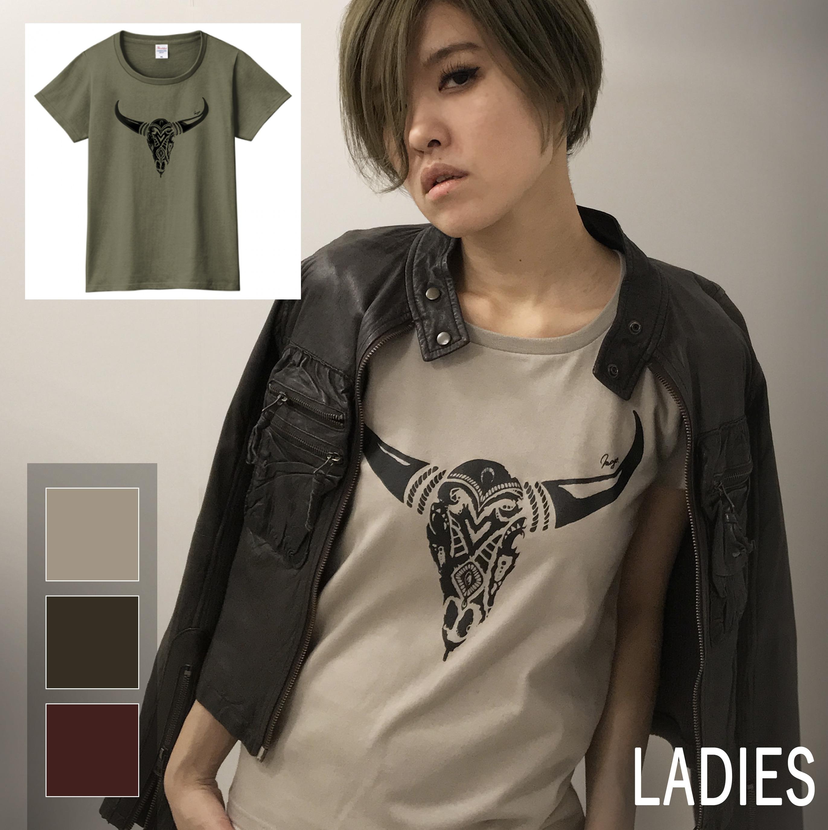 ボーンT-shirt(レディース)