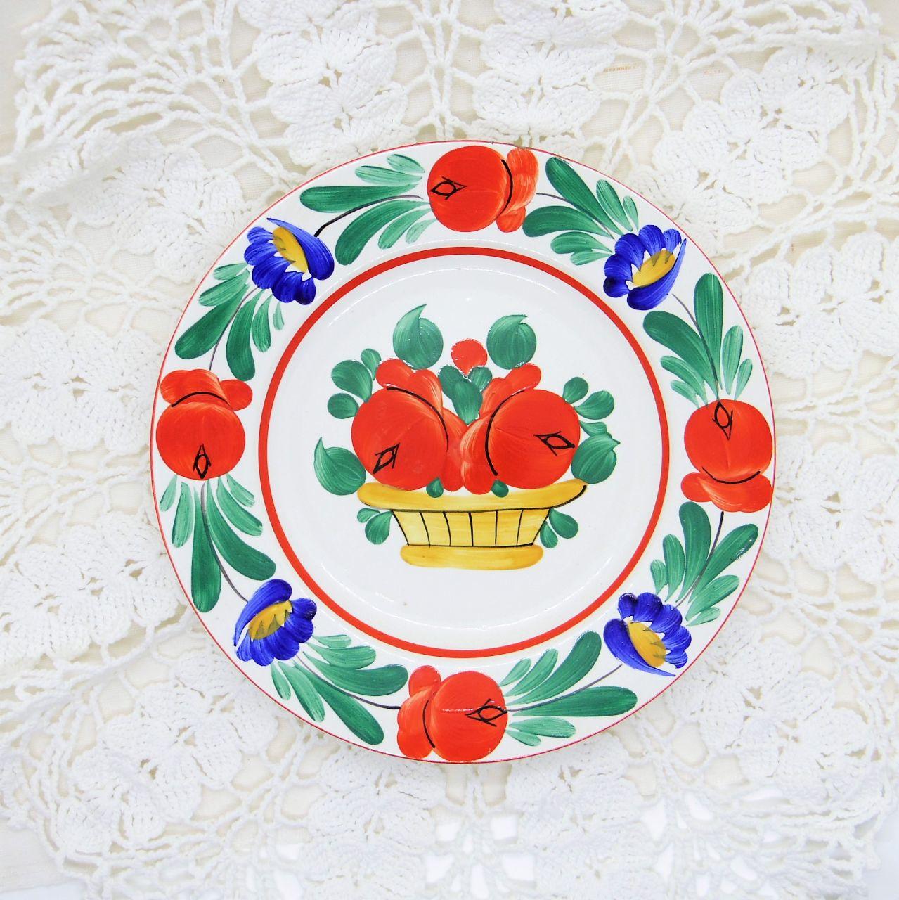 ハンガリーの飾り皿 ハンドペイント小皿①