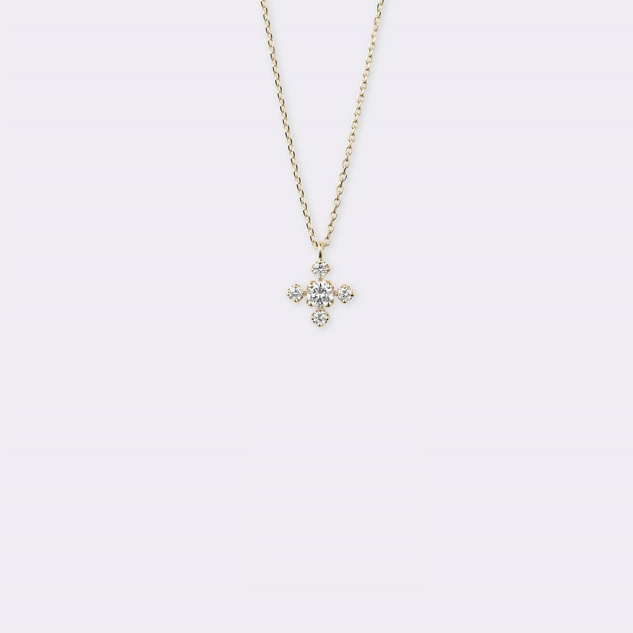 Lucente Necklace K18YG(ルシェンテネックレス K18イエローゴールド)