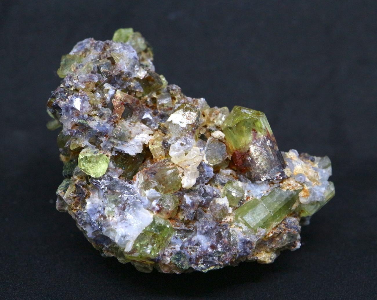 メキシコ産 アパタイト 母岩付き  Apatite 41,3g AP024 鉱物 原石 天然石 パワーストーン