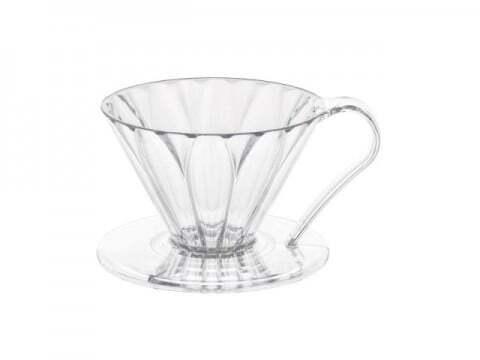 【ドリップチャンピオンも使用】CAFEC フラワードリッパー1~2杯用 樹脂製 三洋産業