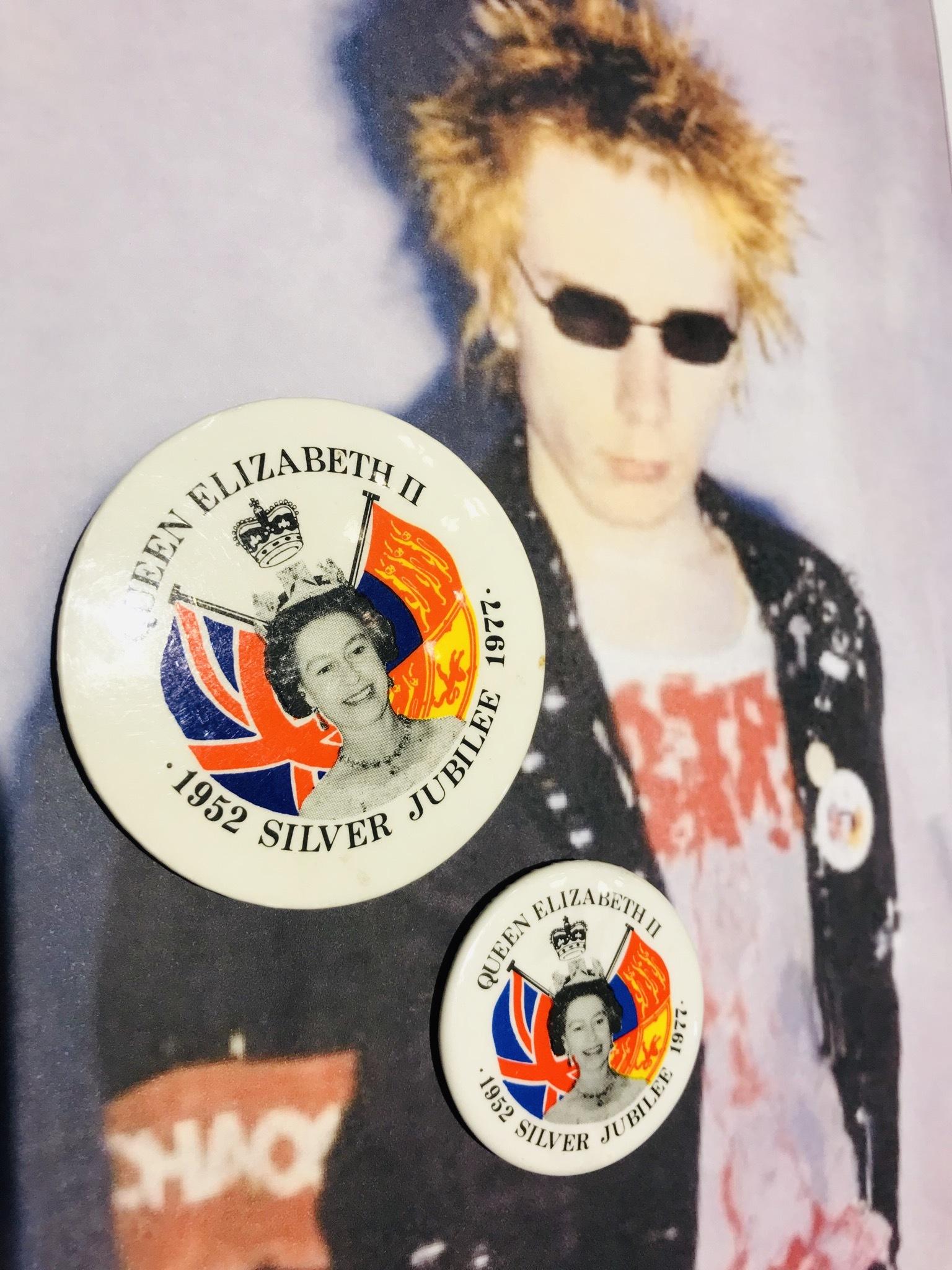 Silver Jubilee 1977 Badge 5.5cm