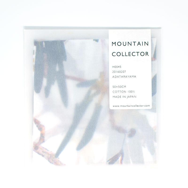 MOUNTAIN COLLECTOR(マウンテンコレクター)H0045 ADATARAYAMA ハンカチ