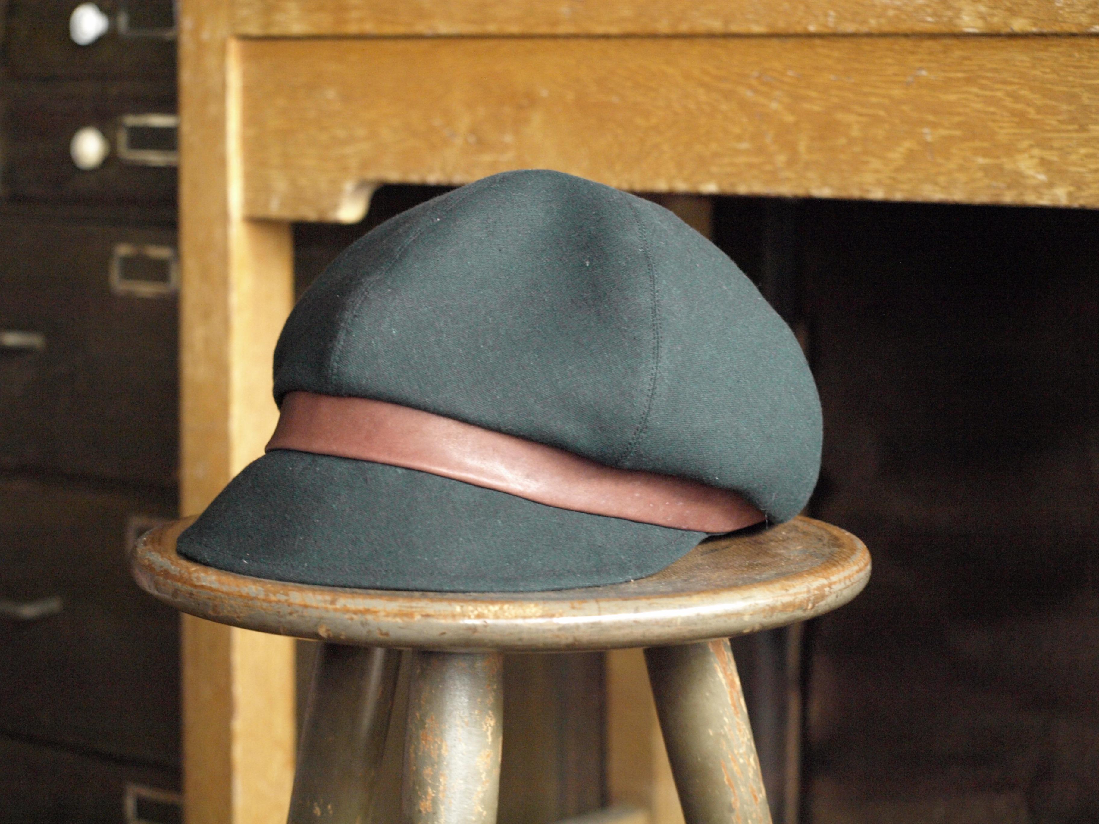 帽子(リネン:ブラック)