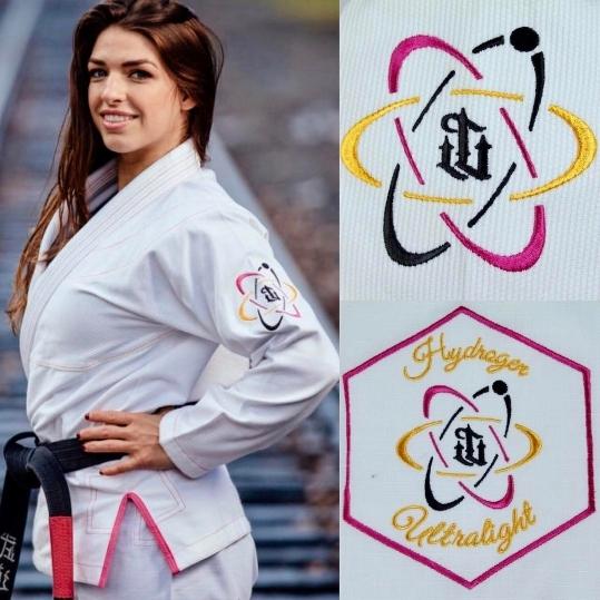 WAR TRIBE GEAR  Women's Hydrogen Gi ホワイト 白|女性用ブラジリアン柔術衣(柔術着)