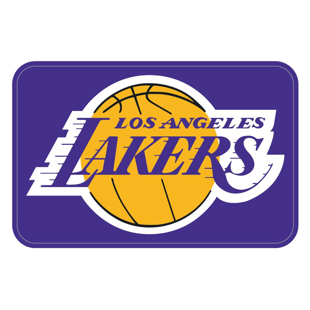 "245 Los Angeles LAKERS ""California Market Center"" アメリカンステッカー スーツケース シール"