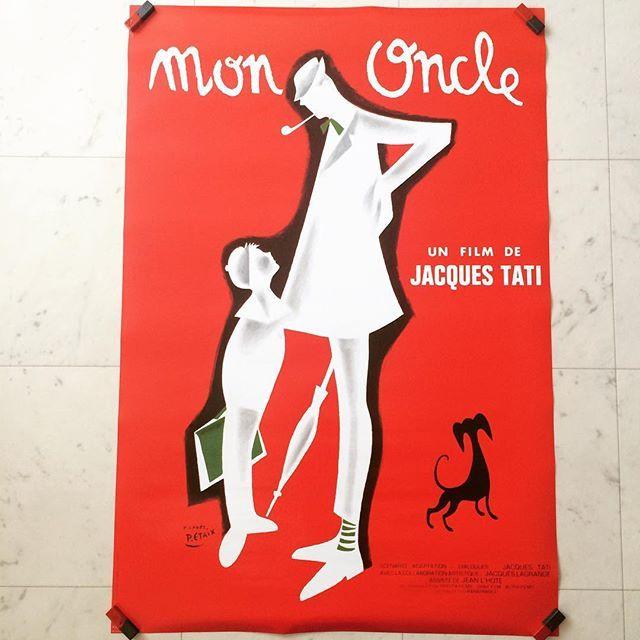ポスター「映画 ぼくの伯父さん Mon Oncle ジャック・タチ」 - 画像1