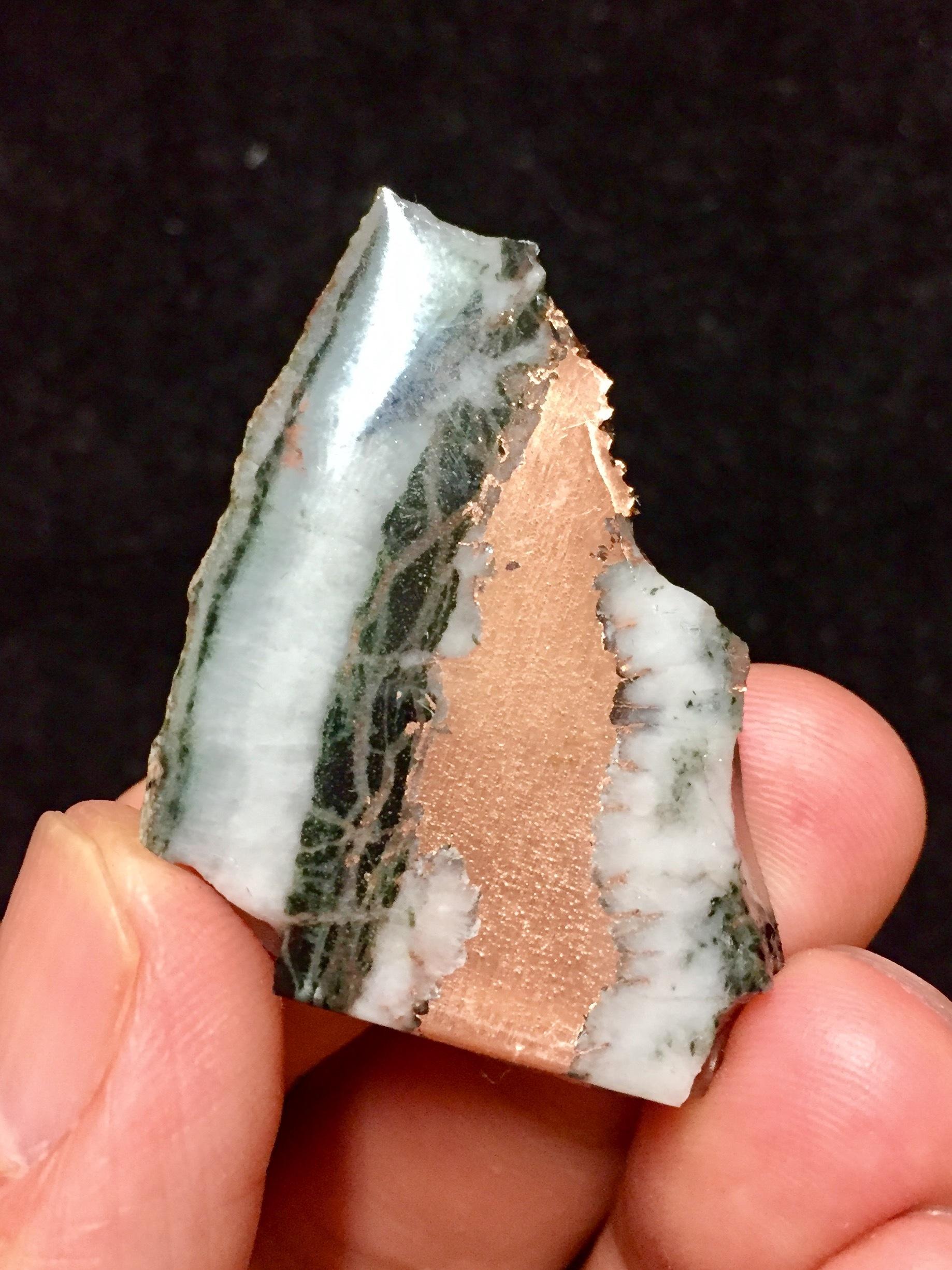 7) ミシガン州産 自然銅