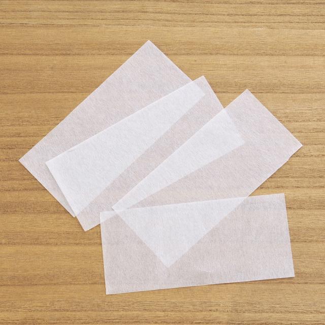 A033 薄葉紙 角留め箱 S用 白 薄紙 包装 日本製 70×150mm 25枚