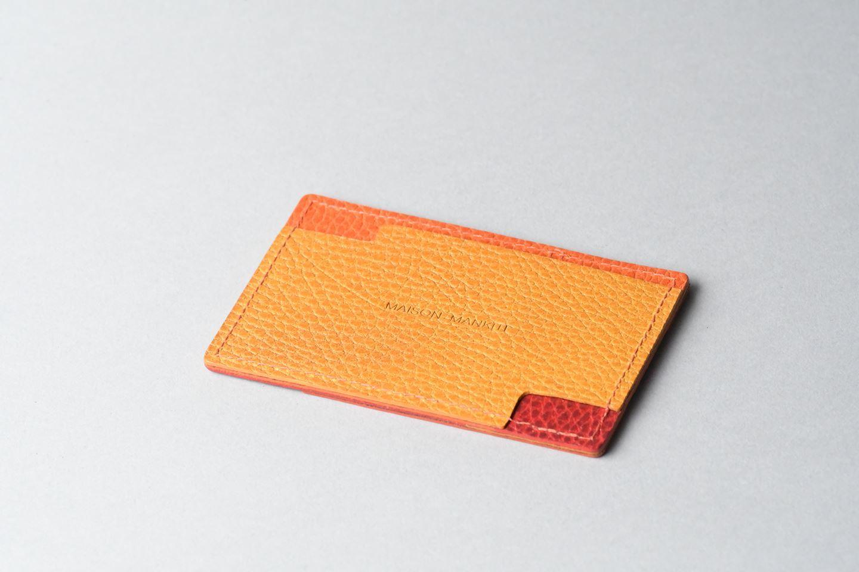 パスケース trico3 □オレンジ・イエロー・レッド□ - 画像1