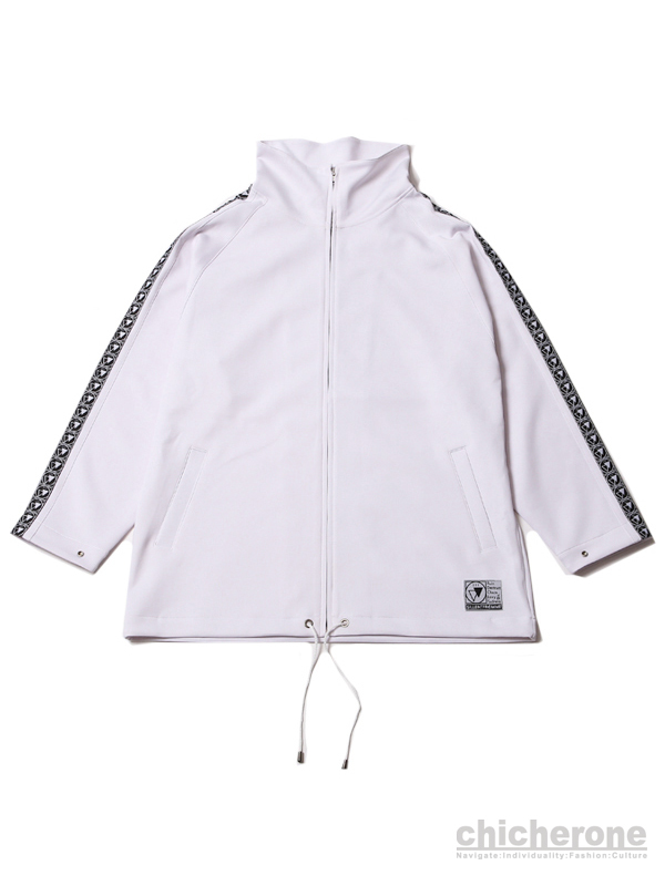 【SILLENT FROM ME】 CLIQUE -Track Jacket-