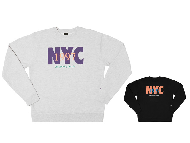 ONLY NY|NYC Track Crewneck