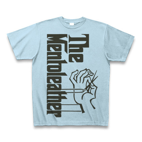 MENTO LEATHER Tシャツ②【ライトブルー】