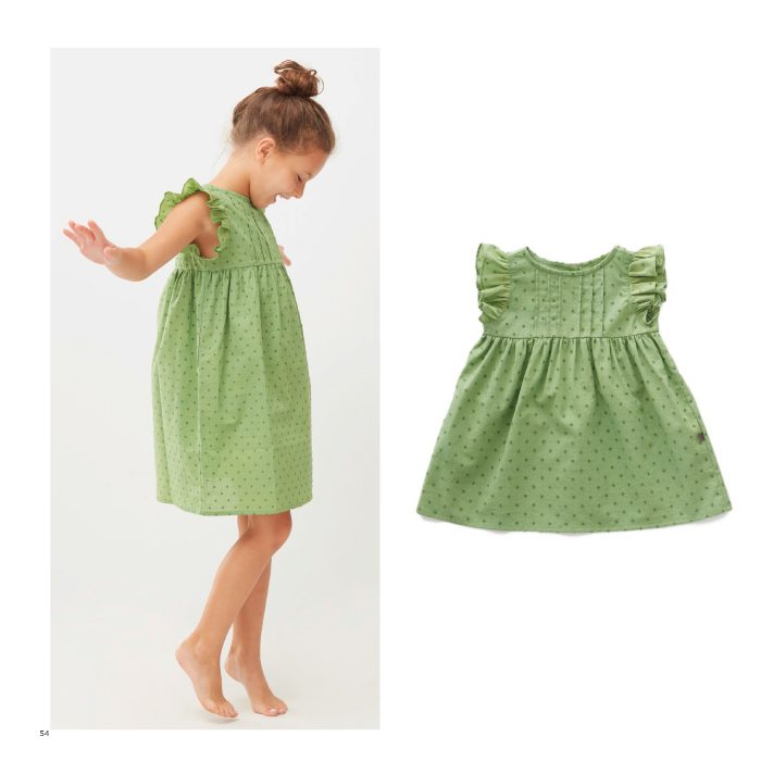 Oeuf swiss dot dress ( 8Y)