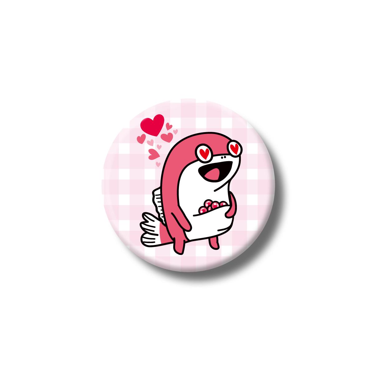 コイス缶バッジ (LOVE)