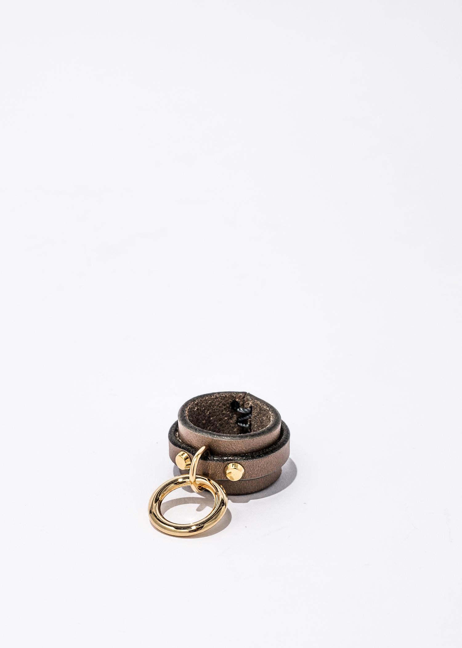 nahezu≒gleich / SID Ring gray/gold  - 画像1