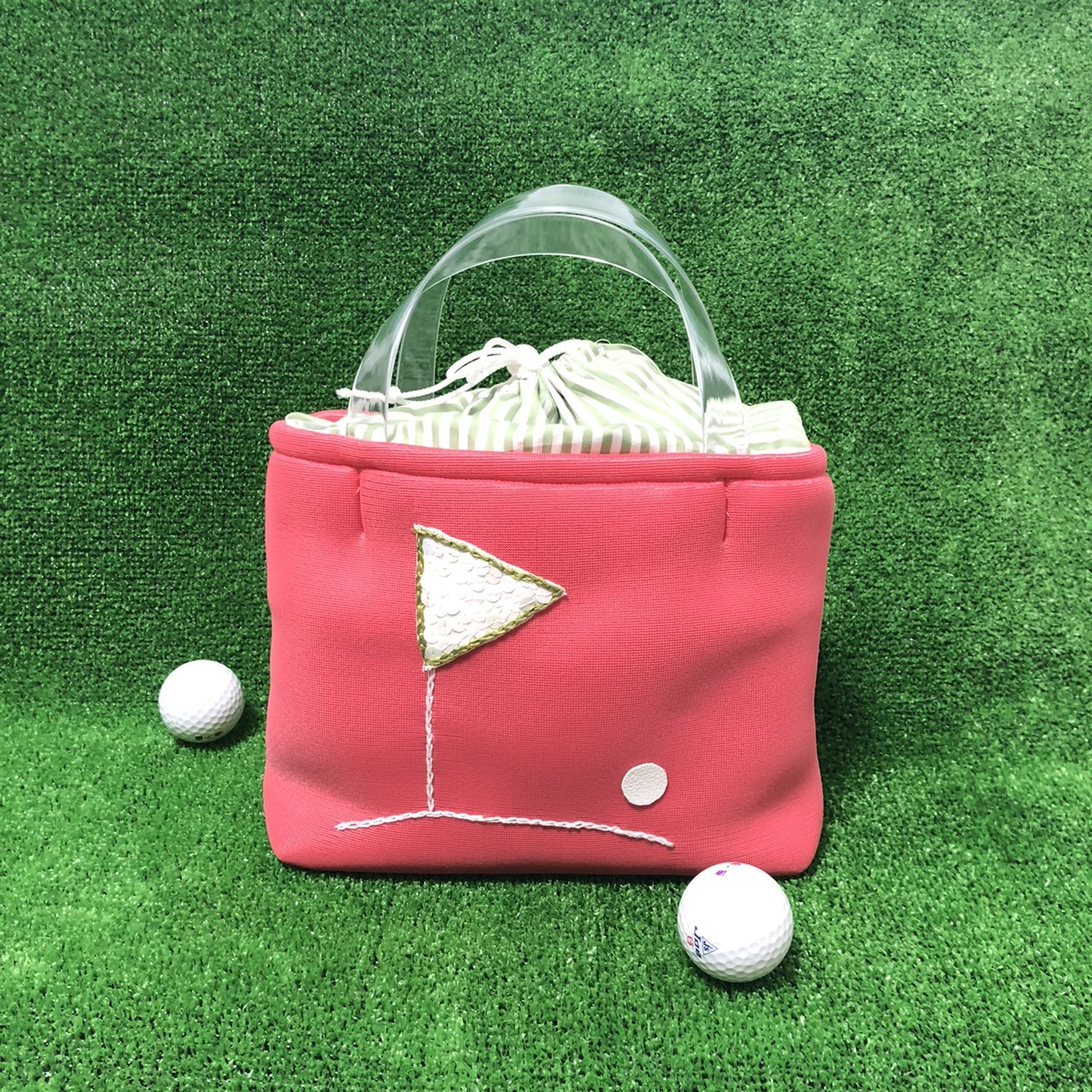 【新商品】ゴルフカートバッグ(レッド)