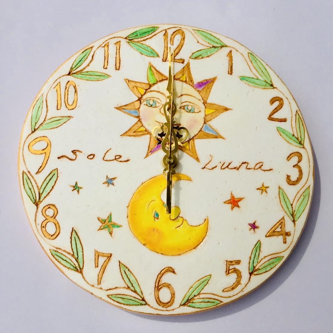 金の太陽と月 (25㎝)