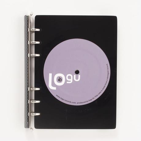 レコード盤がノートになった! Logu Recording Note 006_C