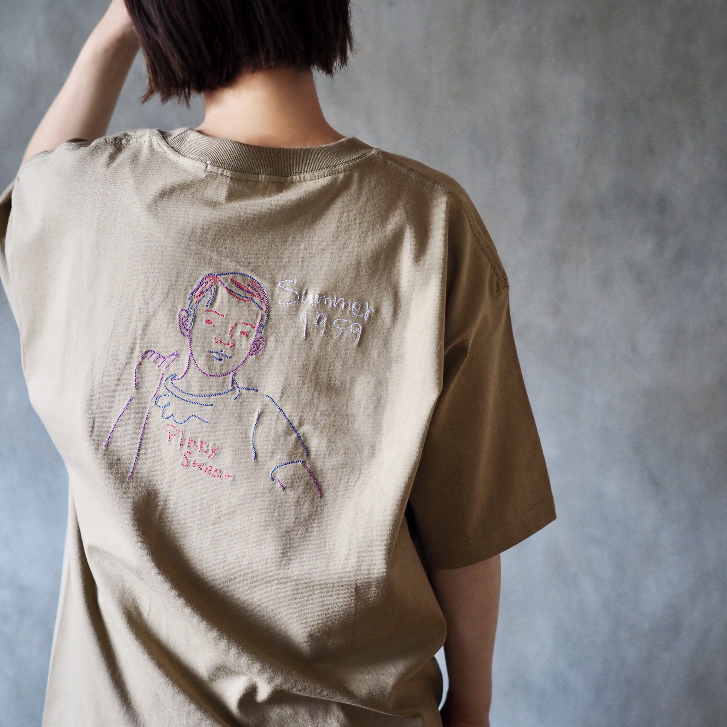 <Stitch>Pinky Tee(Tシャツ)