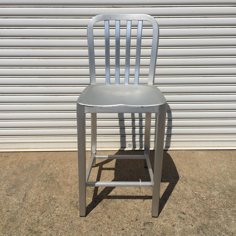品番0031 アルミ製  スタンダードチェア アルミチェア 椅子 ヴィンテージ 011