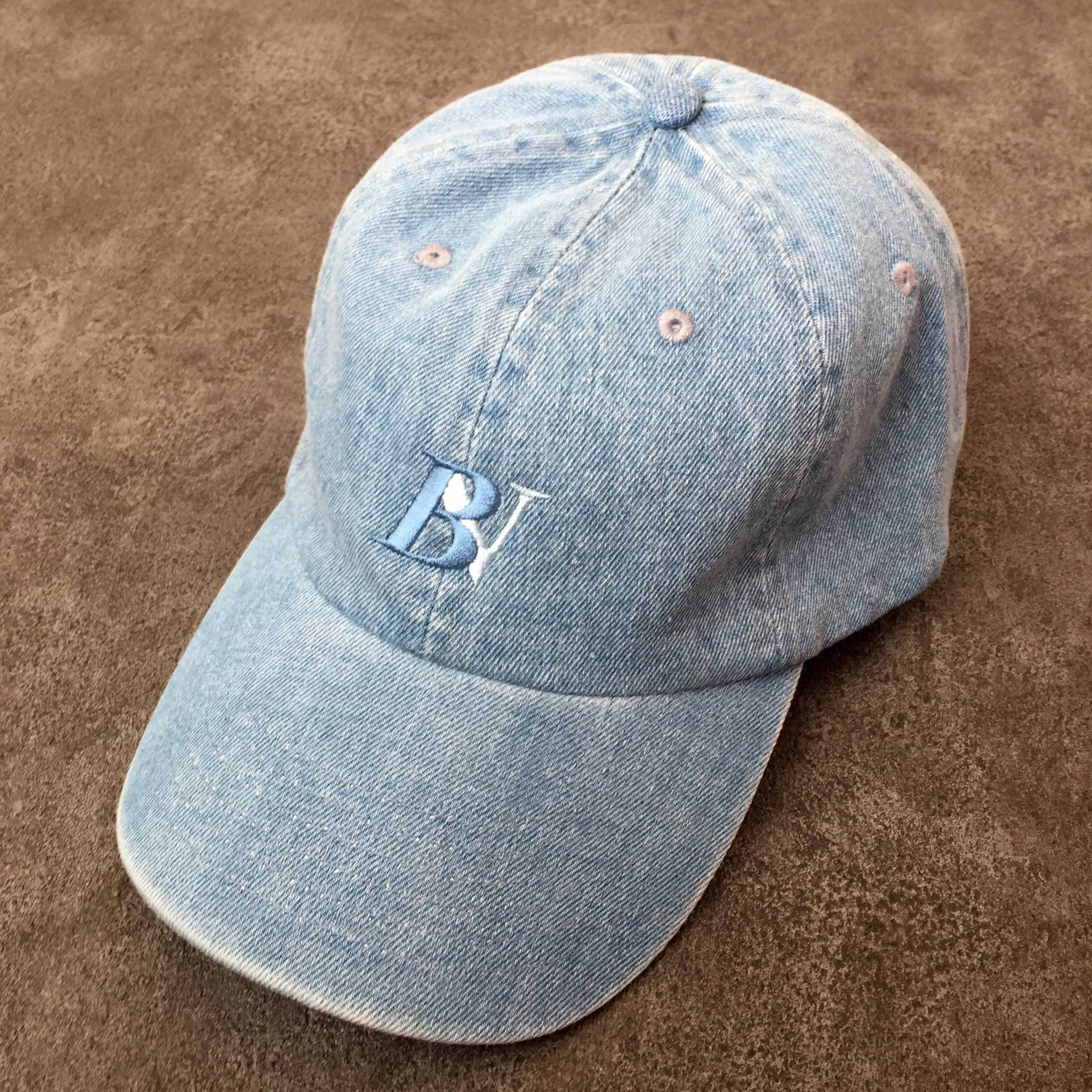 BV LOGO CAP (LIGHT BLUE DENIM)