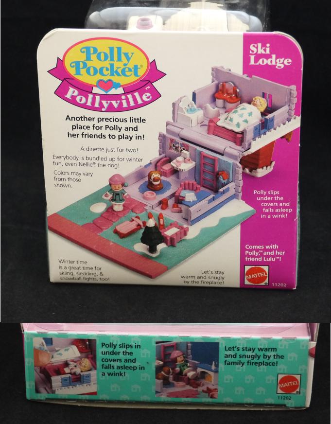 コレクターズアイテム ポーリーポケット スキーロッジ 新品 1993年 ポーリータウンシリーズ