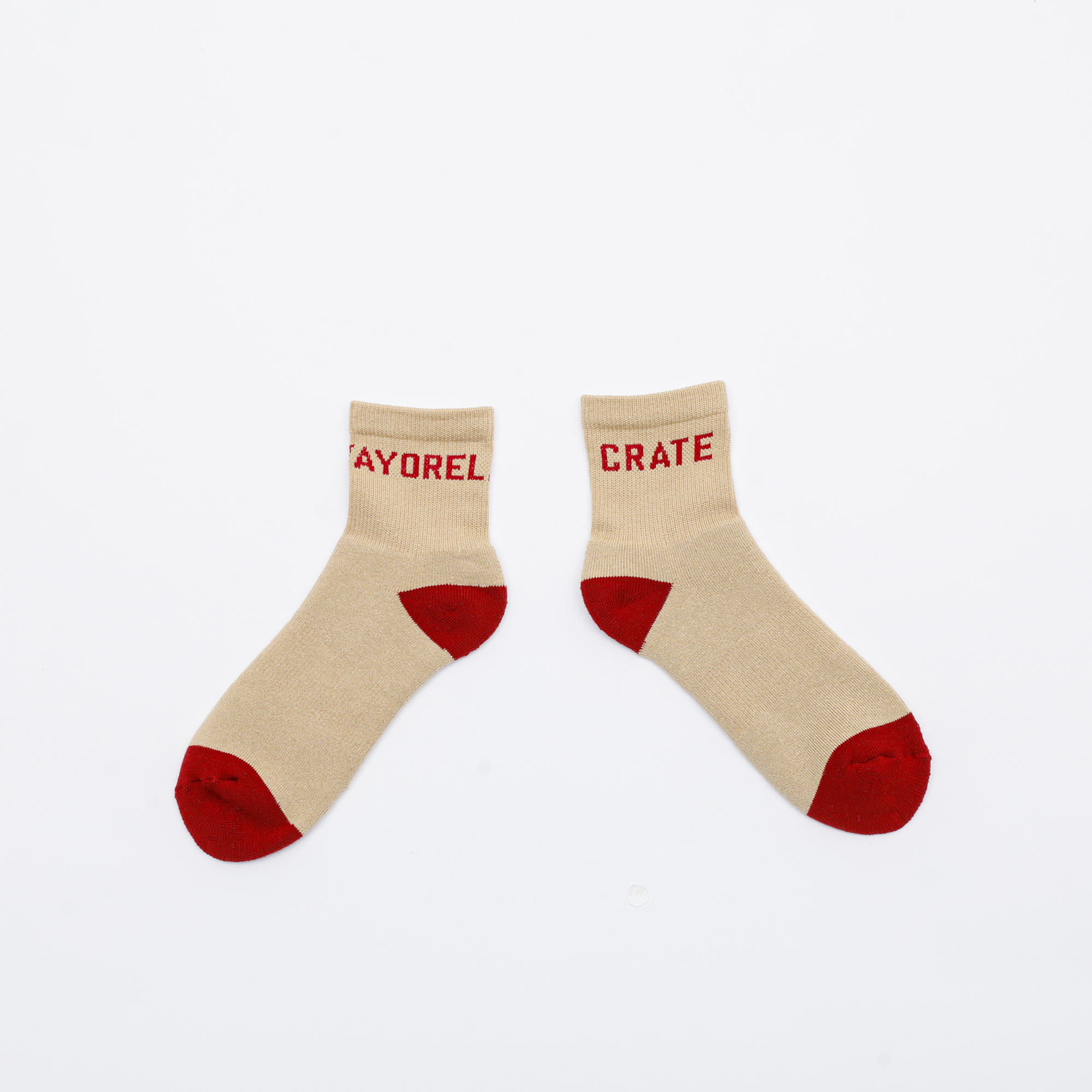 VC MIDDLE SOX BEG/RED