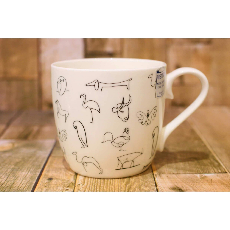 Picasso ピカソ Animaux 【artマグカップ】   浜松雑貨屋C0pernicus