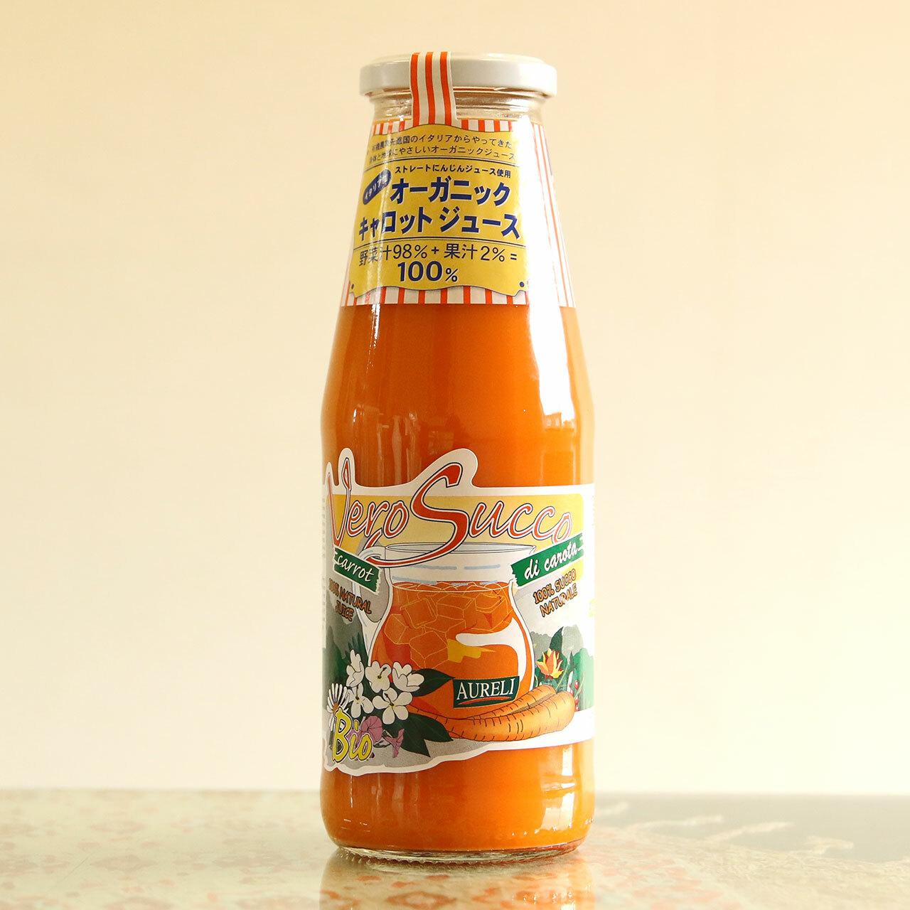 離乳食にも安心安全 有機にんじんジュース100%|オーガニック キャロットジュース