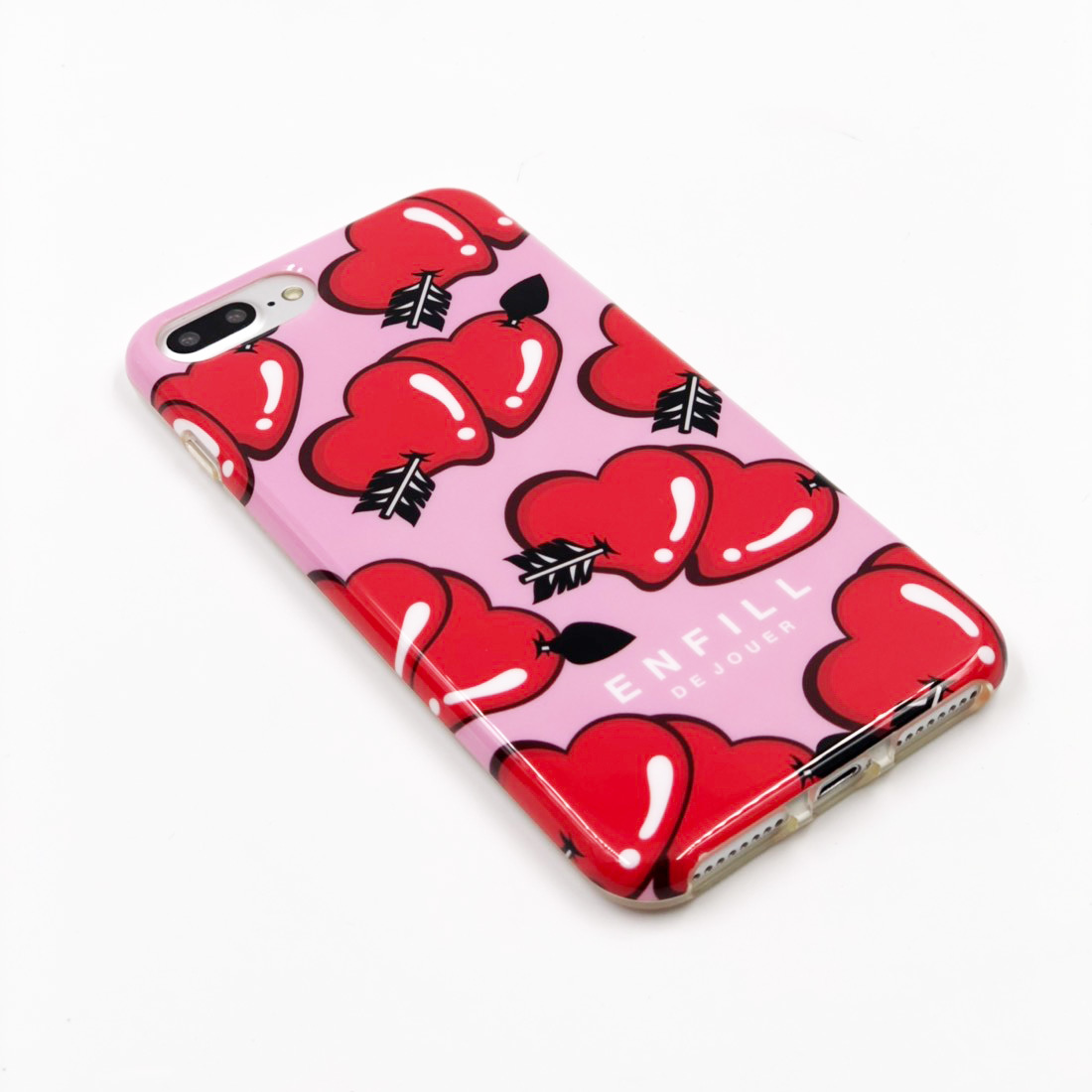 "TPU CASE ""LOVE EACH OTHER"" for iPhone8/7/6s/6 Plusケース"