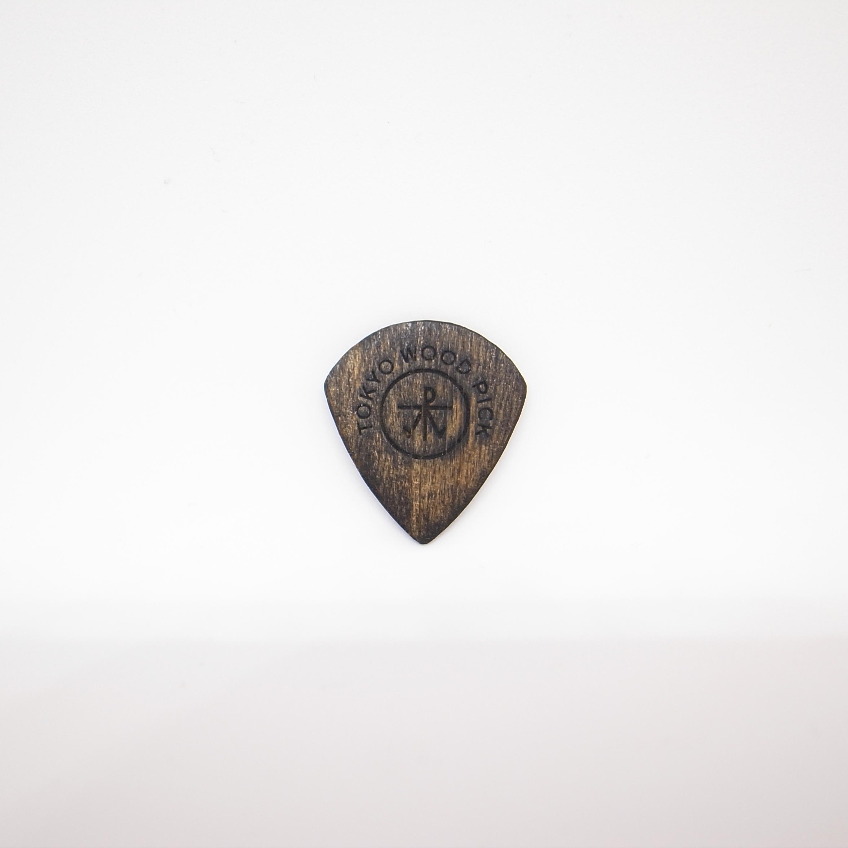 JAZZ型 | ギターピック TOKYO WOOD PICK Black