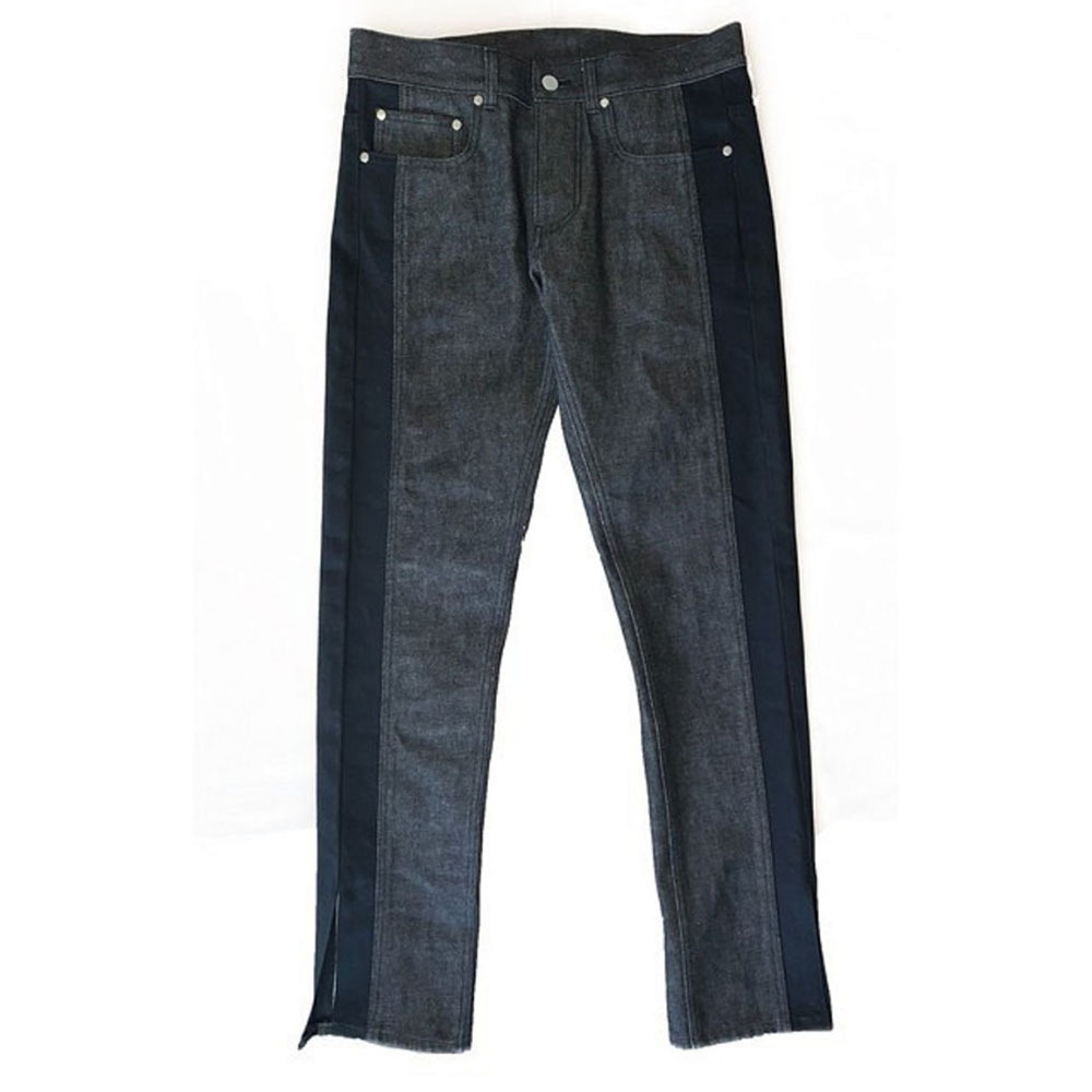 EIGHTYNINE Slit Denim Pants