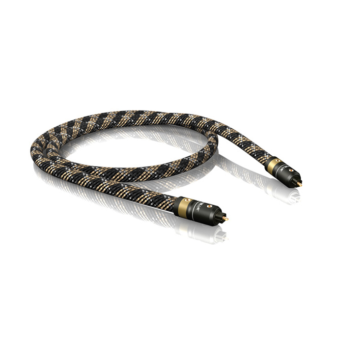 1.0m H-FLEX OPTICAL TOSLINK cable :: VIABLUE