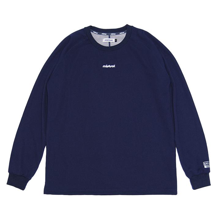 ミストラル メンズ [ HP-DRY 長袖Tシャツ -ベーシック- ] NAVY