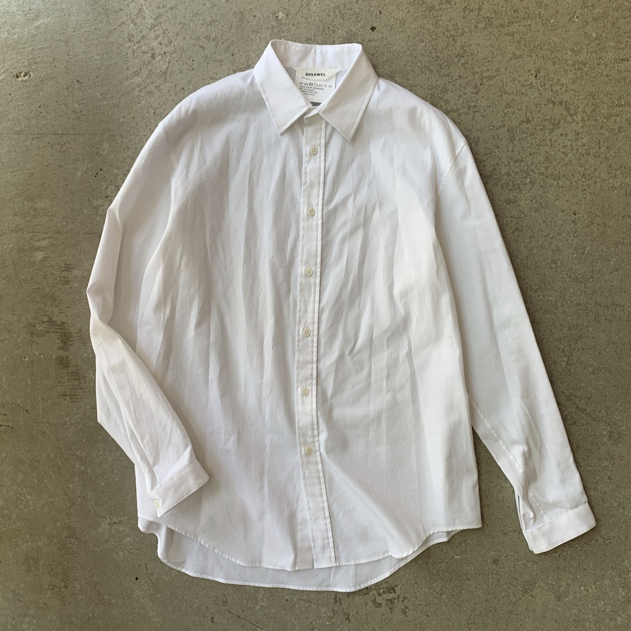 DIGAWEL - pinpoint Oxford Shirt