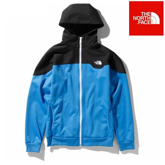 ノースフェイス ジャケット パーカー ジップアップ マッハ5ジャケット NT61845 クリアレイクブルー×ブラック 正規取扱店
