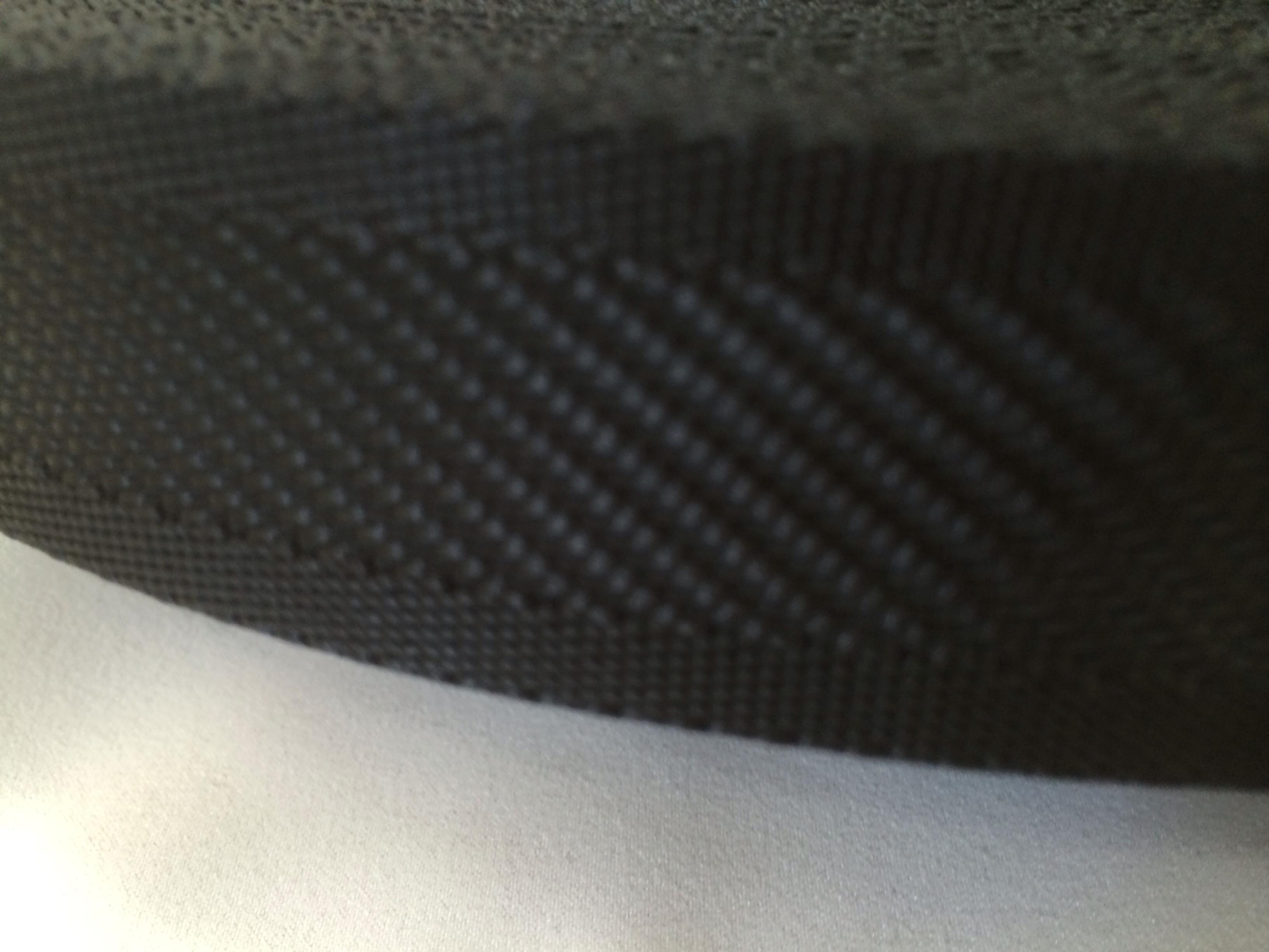 ナイロンテープ  中綾織  30mm幅  1.5mm厚  黒 1m