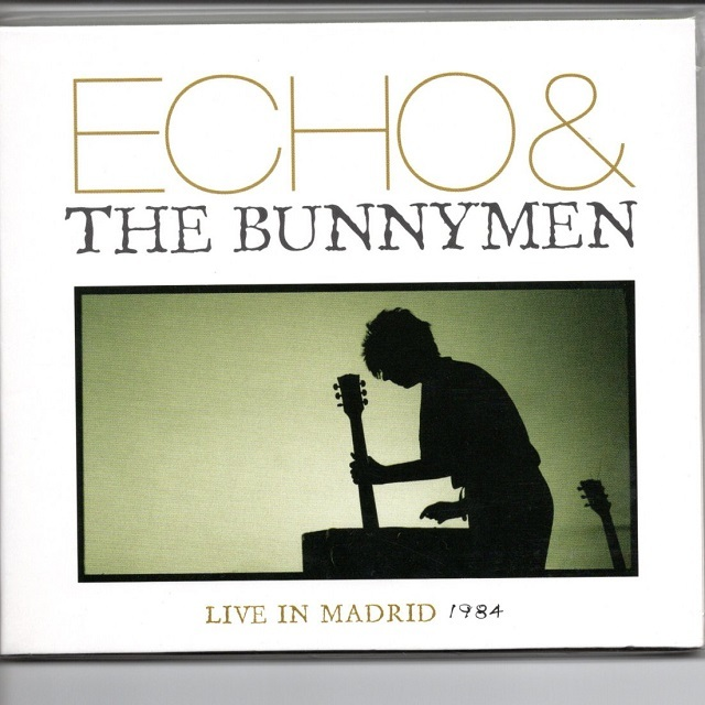 【CD・蘭盤】Echo and The Bunnymen / LIVE IN MADRID 1984