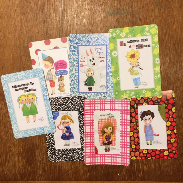 POST CARD set / Girl