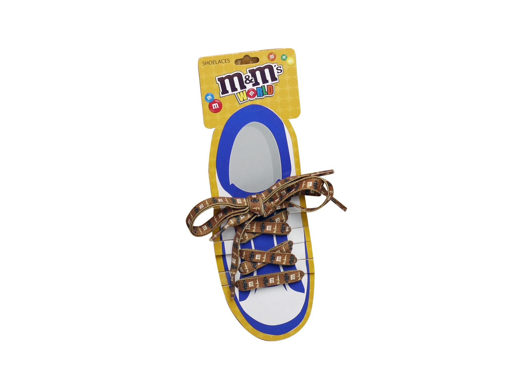 M&M's エムアンドエムズ シューレース 靴ひも